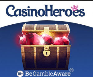 Latest bonus from Casino Heroes